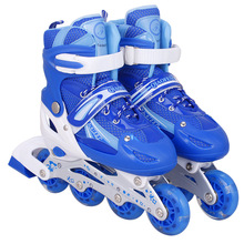 Adult Children Inline Skates Skating Shoes Professional Adjustable Breathable Roller Skates Shoes Patines For Girls Boys
