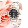 Bling do Relógio De Cristal de Aço Pulseira De Relógio das Mulheres Relógio Moda Mulheres Lady Mulher Relógio de Pulso de Quartzo Relógio de Pulso Relogio feminino