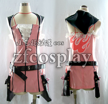 Kingdom Hearts 2 KAIRI Christmas Hallowmas Fashion Party Lolita Dress Skirt Uniform Cosplay Costume Any Size NEW