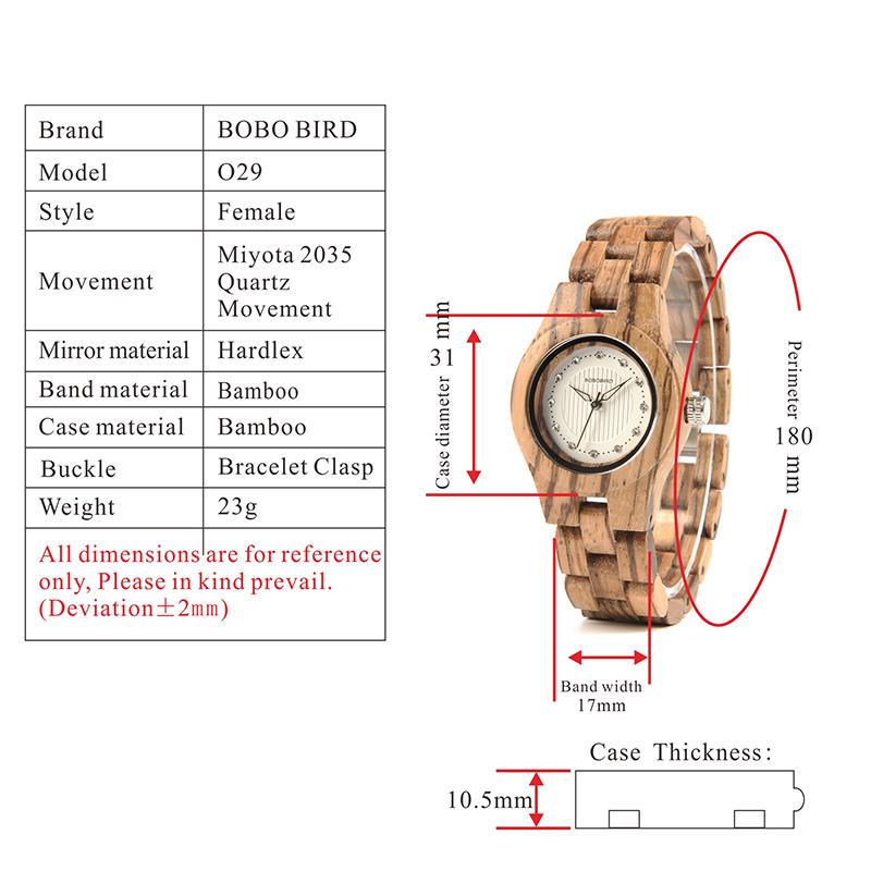 wooden watches for girls bobo bird (15)