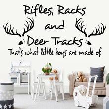Modern quote Removable Art Vinyl Wall Stickers For Baby Kids Rooms Decor Decal Creative