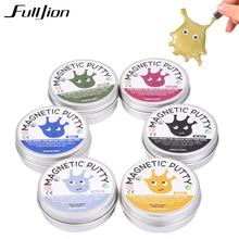 Fulljion Magnetic Slime Toys Squishy Antistress Funny Gift Entertainment Novelty Gag Toys For Children Stress Relief Fun Gadget