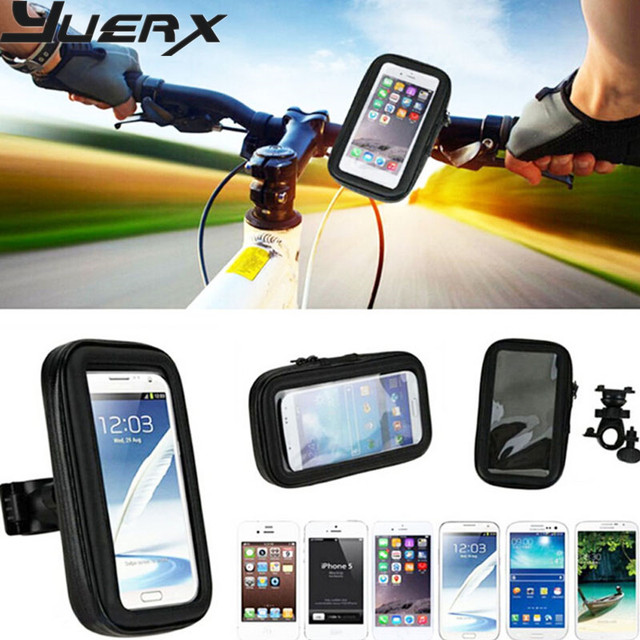 Bicycle Bike Mobile Phone Holder Waterproof Touch Screen Case Bag For HTC Butterfly 2,Wileyfox Swift 2 Plus/2 X / ALL Phone