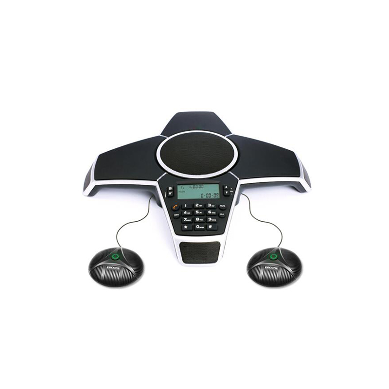 A500ER Wired Communication Remote Conference Speakerphone Recording Professional with 2 extension microphone