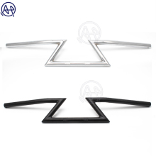 1pcs Motorcycle Chrome/Black 7/8 22mm Drag Metal Handlebar Universal for Honda Yamaha Kawasaki Custom