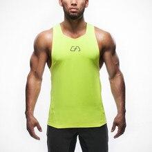 Wholesale-Brand Mens Tank Tops Stringer Bodybuilding Equipment Fitness Men's  Tanks  Clothes Gymshark