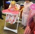 Стульчики детские Сиденья Мать и Дети складной портативный детское питание стулья PP регулируемые сиденья могут сидеть лжи безопасности новый горячий качество