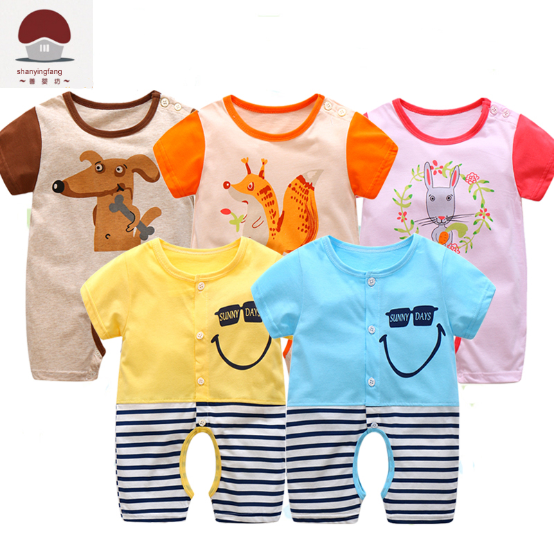 Newborn Uni Baby Clothes Twins Cartoon Fox Clothes 0 3