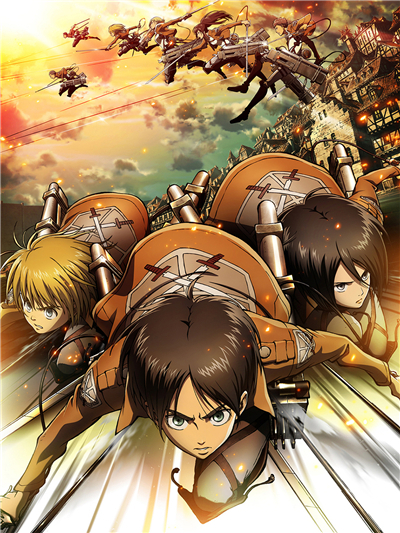 Us 479 20 Offcustom Canvas Art Attack On Titan Poster Attack On Titan Figure Wallpaper Kid Anime Wall Stickers Mural Bedroom Decoration 108 In
