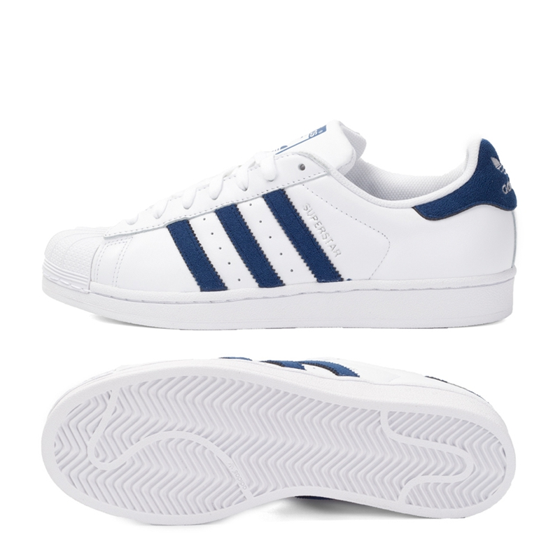 Original New Arrival Adidas Originals Superstar Unisex Skateboarding Shoes