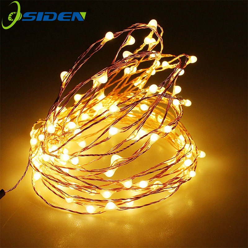 LED String Light 10M5M2M 3AA Battery Powered USB CopperWire Christmas Outdoor Fairy Led StripLight ForXmas Garland Party Wedding