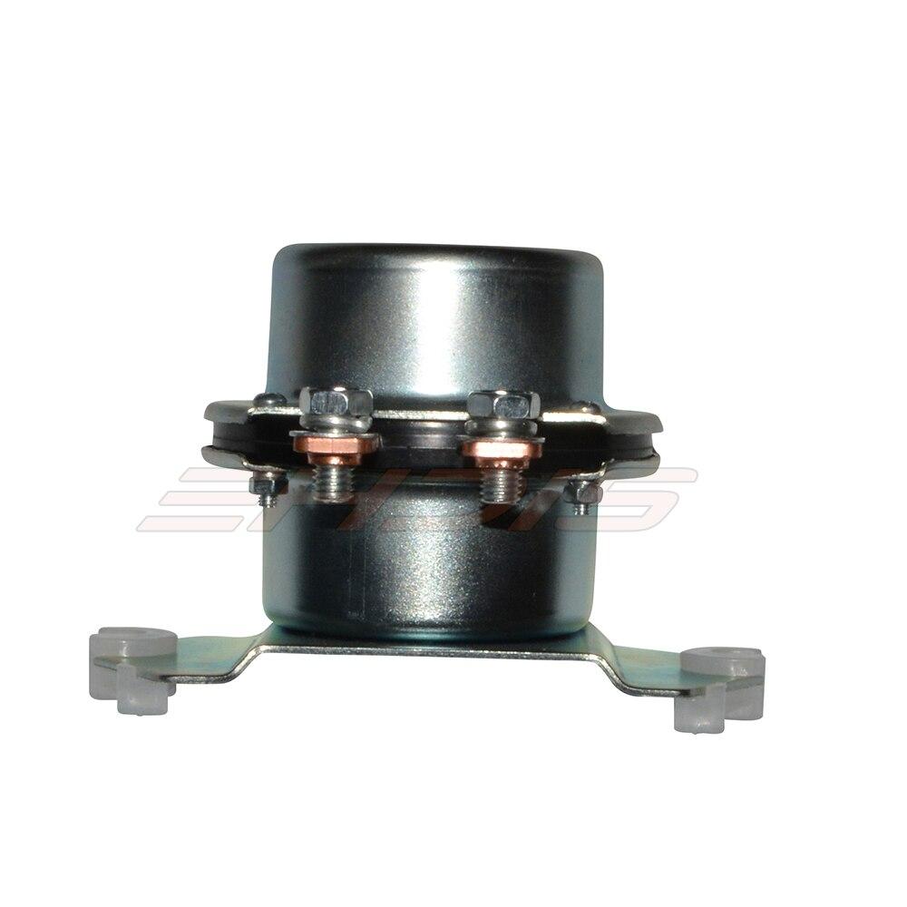 Universal 24 voltios//24V Solenoide del arrancador 4 terminal 100A 200A carga intermitente