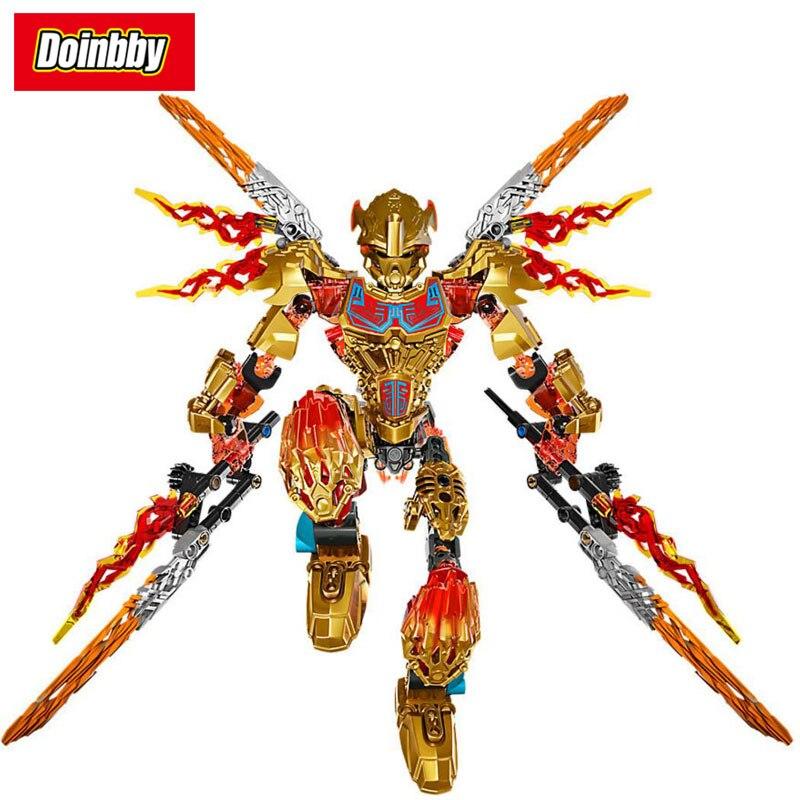 Bionicle Tahu Unificador de Fogo Bioquímica 2 EM 1 KSZ 612-4 Guerreiro Building Block Compatível com Legoings Bionicle brinquedos