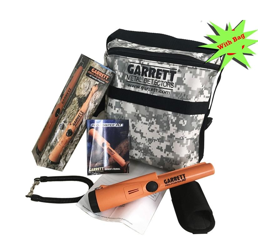 GARRETT Pro Pointer AT 1140900 Gold Silver Metal Detector 100% with garrett handbag цена