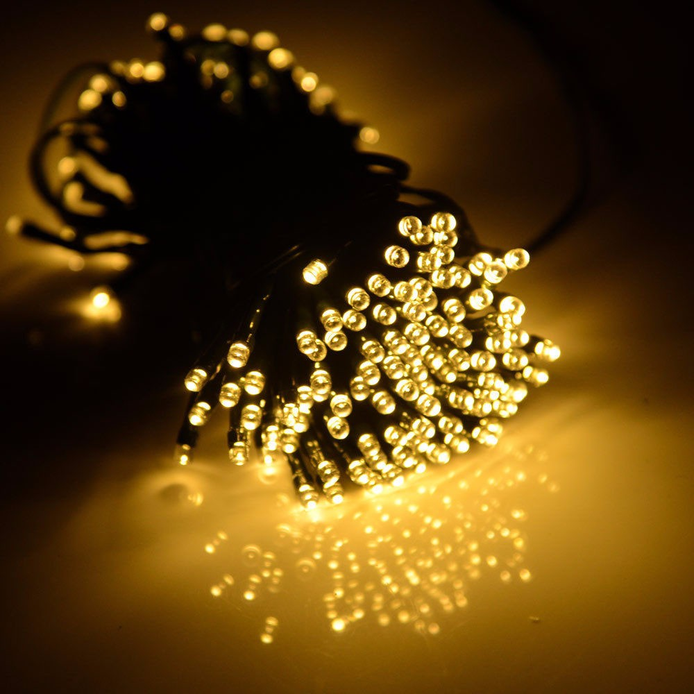 200 LED Solar/Battery Light Outdoor Fairy String Christmas Garden Lights christmas decorations outdoor lighting string lights ...