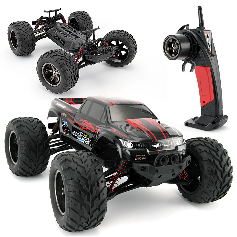 1/12 2WD 2.4G High Speed RC Car KF S911 RC Car Supersonic Monster Truck Off-Road Vehicle Buggy Big Wheels Electronic Car Toy new 7 2v 16v 320a high voltage esc brushed speed controller rc car truck buggy boat hot selling