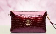 Frauen handtasche mädchen handtasche Handtasche marke neue krokoprägung kette tasche hand kupplung mode handtasche