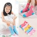 Comercio al por mayor 20 pairs = 40 pieces calcetines de los cabritos 1-12years 1-3/4-6/6-8/8-12Y color mezclado torta colorida de algodón niños calcetines calcetines de bebé niñas