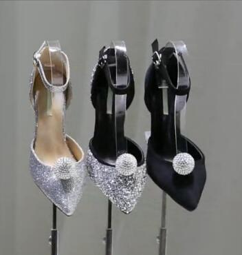 Mujer Tacón Zapatos De Photo as Con Boda Para 2017 Photo Hebilla Diamantes Alto As Imitación vv0qdWr