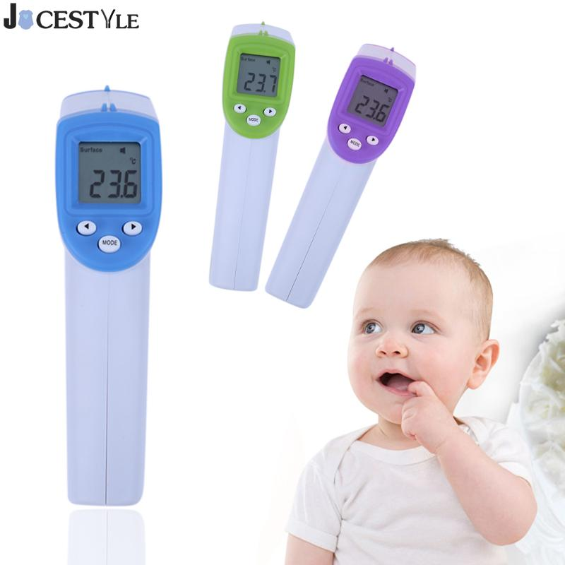 Non-contact Digital Infrared Thermometer LCD IR Infrared Thermometer Body Forehead Surface Temperature Measurement Gun Handheld 2 2 lcd digital thermometer handheld temperature tester 1 x 9v 6f22