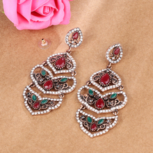 Vintage Bohemian Super Big Drop Earrings Jewelry