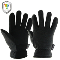 OZERO Men S Work Driver Gloves Deerskin Winter Warm Windproof Security Protection Wear Safety Working For