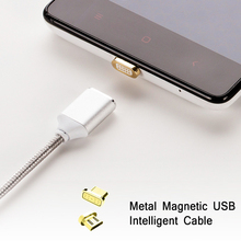Magnetic Nylon Braided Fast Charging Cable For ASUS ZenFone Max 5000Z A400CG Quick Charge Android USB Date