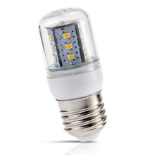 Nflc-3 Вт E27 5630 SMD светодиодные лампы кукурузы пятно света лампы теплый белый 270LM AC100-240V = 15 Вт