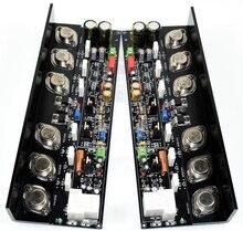 Um par HIFI KSA50 Classe Uma placa De amplificador de Potência 50 W + 50 W com alumínio Ângulo