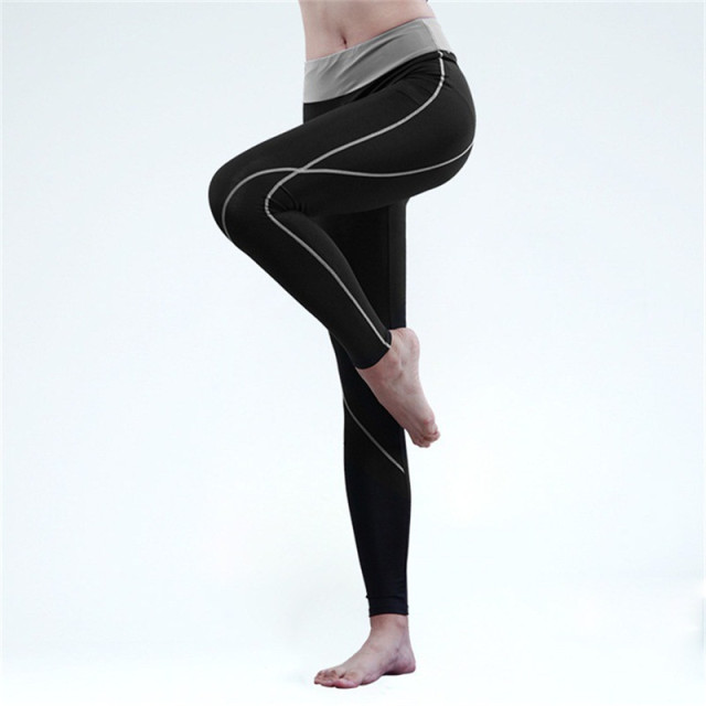 New Gymnasium Women's Sporting Leggings Pencil Pants 2017 Hot Spring and Summer Fashion Stretchy Pants Slim Fitness Trousers 95Z