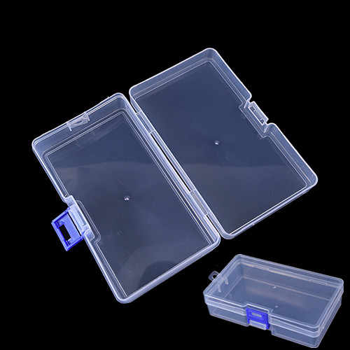 14.6cm*8.5cm*3.5cm Plastic Storage Box Container Case Transparent Fishing Lure Tackle Hook Bait