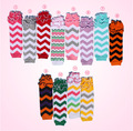 new baby girls cotton chevron ruffle legwarmers wholesale girls cute leggings legwarmer children kids 12pairs/lot