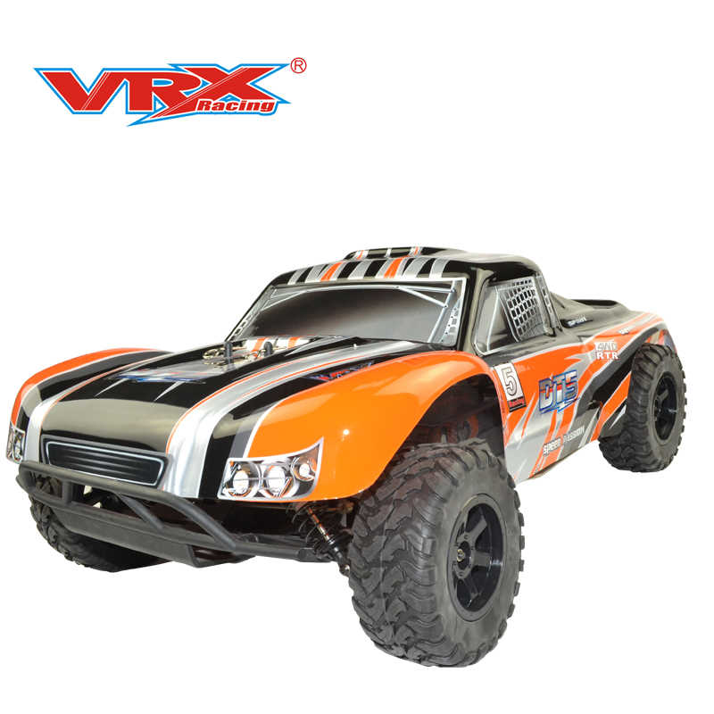 Truck rc VRX Racing DT5 NI RH1008 1/10 nitro korte cursus truck 1/10 nitro rc truck single speed met 18 motor