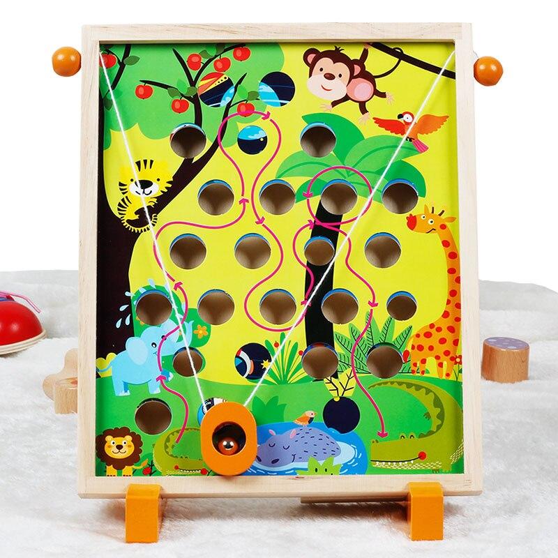 Childrens toys Kindergarten Dongyi Intelligence Desktop parent child interaction balance hand eye coordination Balance gameColor & Shape   -