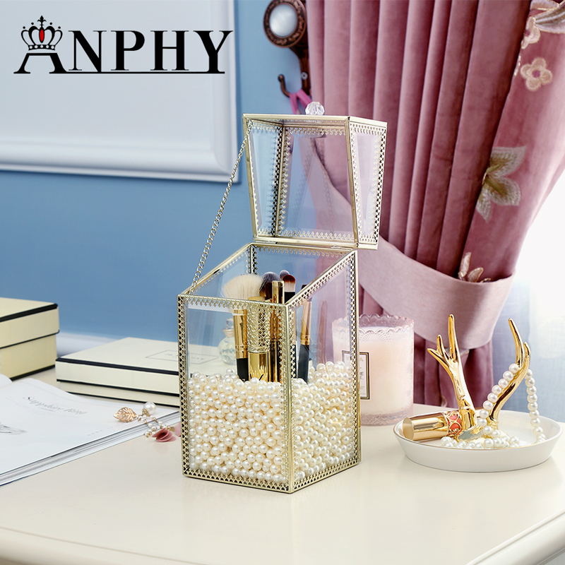 ANFEI New Arrival Gold Glass Clear Makeup Perfume Lipstick