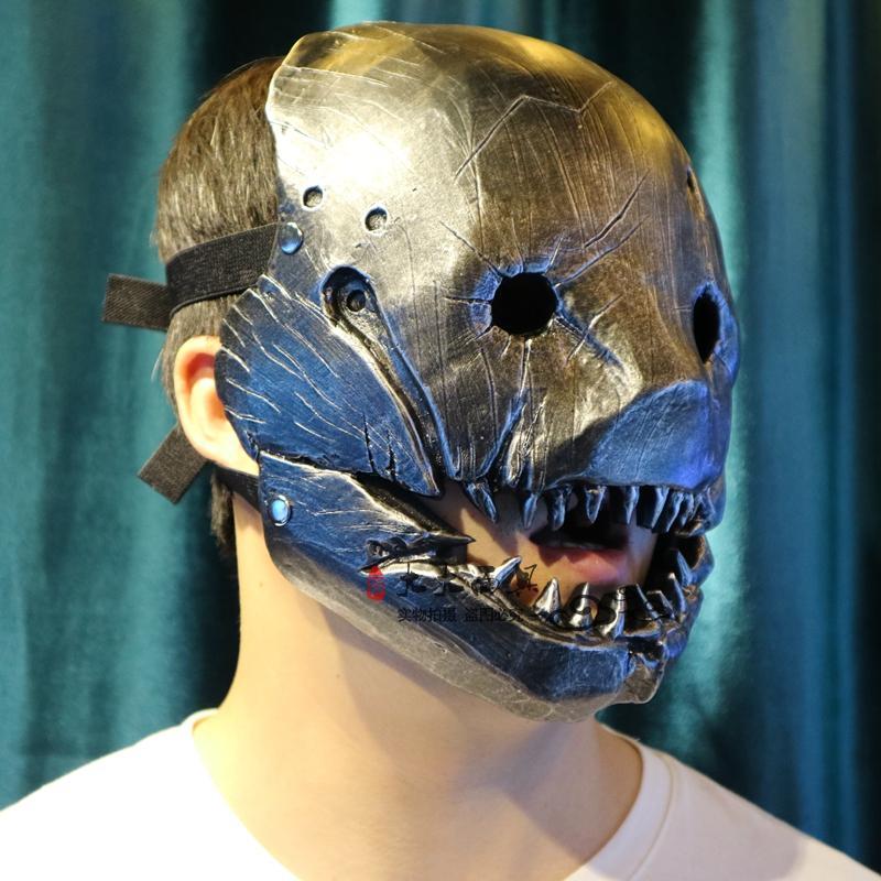 Игры Косплэй погибших при дневном свете Траппер Маски для век Глава шлем реквизит смолы маски