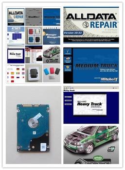auto repair manual software alldata 10.53 + mitchell on demand +vivid workshop data+atsg full 49in1 hdd 1tb