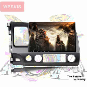 HD IPS 10.1\'\' touch screen 8 core android 10.0 car auto music pc tablet tape gps monitor for honda civic 2006 2008 2010 usb dvr