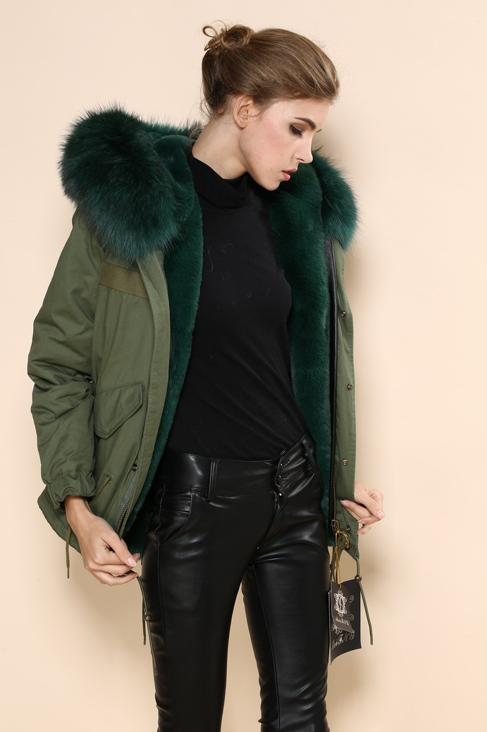 Aliexpress.com : Buy mens pea coat for women real reccoon outwear ...