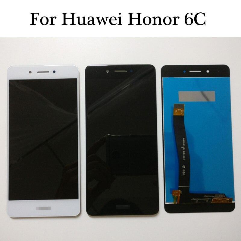 imágenes para 100% Probados de Alta Calidad NUEVO Para Huawei Honor 6C DIG-L01/Nova Inteligente/DIG-L21HN Pantalla LCD + Pantalla Táctil Digitalizador Asamblea