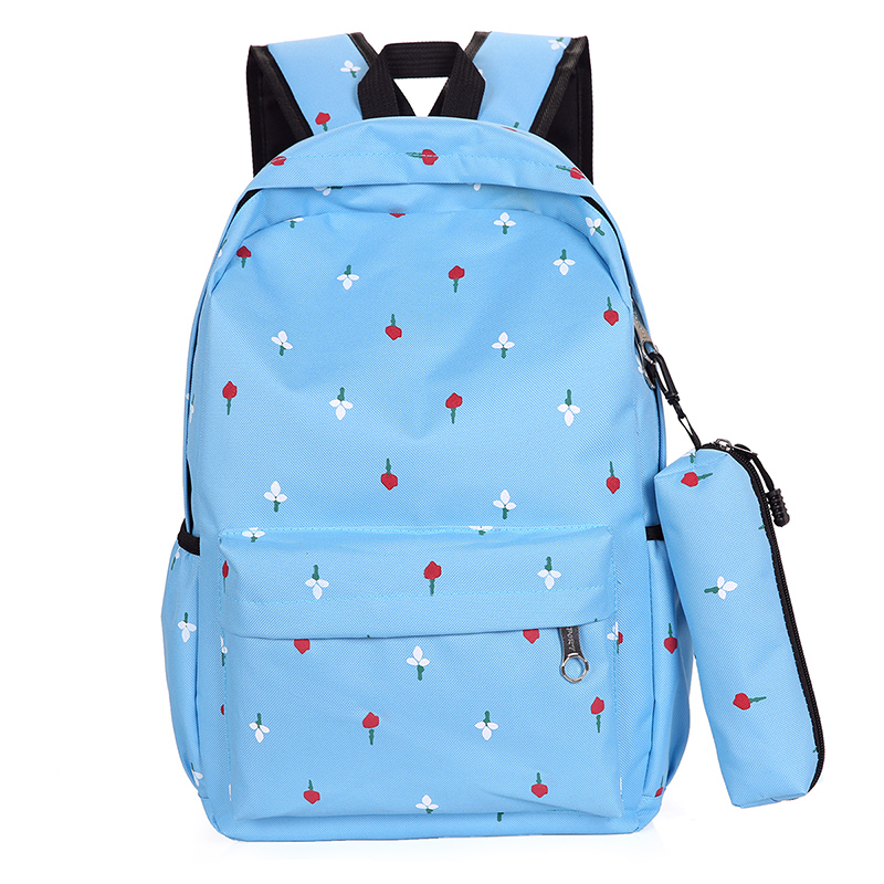 Large capacity female bag student bag cartoon travel leisure travel backpack Korean version