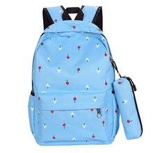 Большая емкость женская сумка студент мешок мультфильм путешествия отдыха и путешествий рюкзак Корейской версии