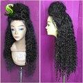 Brazilian Kinky Curly Lace Front Wigs Virgin Hair Afro Kinky Curly Lace Wigs Human Hair Glueless Full lace Wigs For Black Women