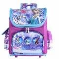 Nova arrivel Saco de Escola Ortopédico mochila snow queen Crianças carros Saco de Escola Mochila Escolar Mochila Infantil para meninas