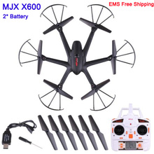 With two Battery MJX X600 UAV Kvadrokopter 2 4G 4CH 6 Axis Drones with Camera HD
