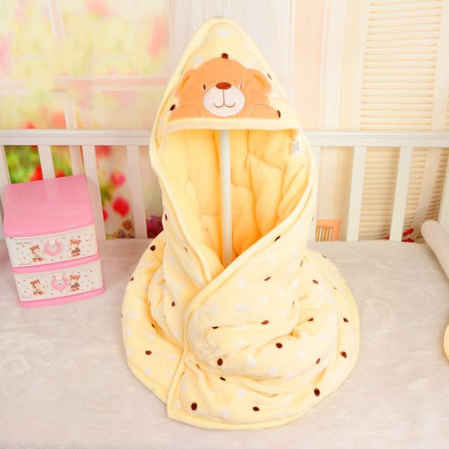 Bebé Geométrica Naninha Bata Polar Bebé Recién Nacido Swaddle Wrap Manta Pañales Manta de Bebé Recién Nacido ropa de Cama de 708012