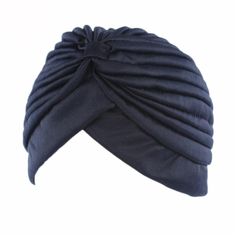 Hot Islamic Prayer Hats Scarves Wraps for Women Men Muslims Turban Bandanas Elastic Stretchy Solid Color Caps   Beanies