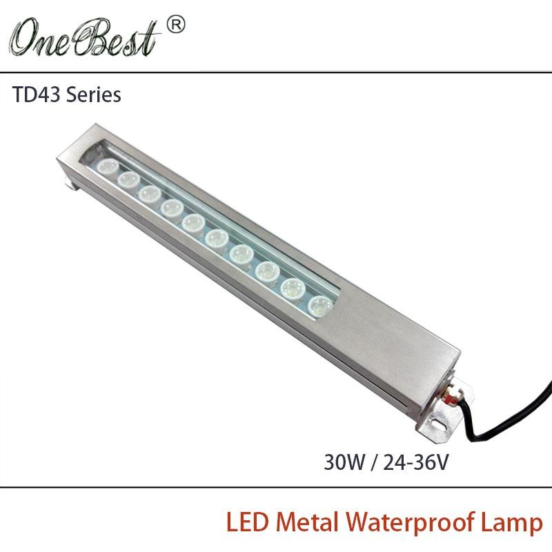 HNTD 24V 36V TD43 30W Led Metal Panel Light CNC Machine Tool Waterproof Explosion proof Led