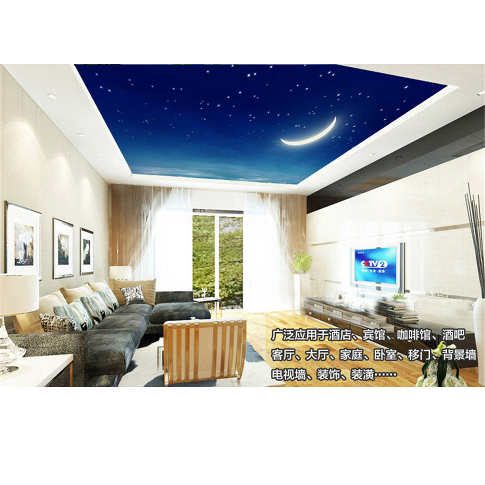3d murals ceiling wallpaper for walls diy non woven fabric starry 3d murals ceiling wallpaper for walls diy non woven fabric starry stars crescent moon landscape wall papers living room good 290 in wall stickers from home amipublicfo Image collections