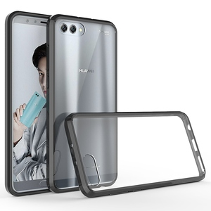 Image 1 - Soft Silicon TPU/PC Case for Huawei Honor View 10 Luxury Fundas Capa Shockproof Shell Clear Hard Back Cover for Huawei Honor V10